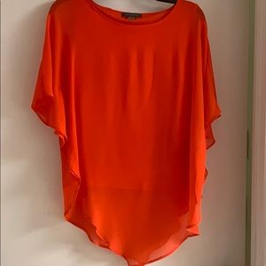 Trendy flare blouse
